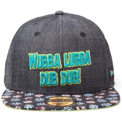 Бейсболка Difuzed Rick & Morty - Wubba Lubba SB081220RMT