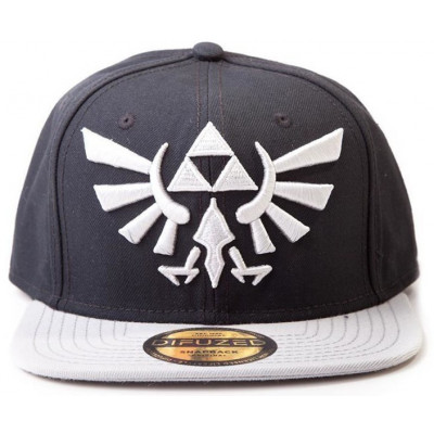 Бейсболка Difuzed The Legend of Zelda: Twilight Princess - Hyrule Crest Logo (Grey) BA180123NTN