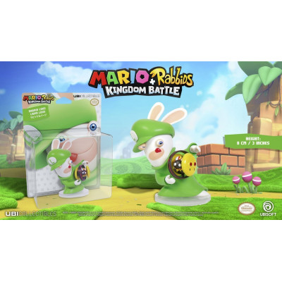 Фигурка Mario + Rabbids: Kingdom Battle - Rabbid Luigi (8 см)