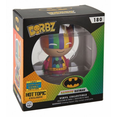Фигурка DC Comics - Dorbz - Rainbow Suit Batman (Exc) (7.6 см)