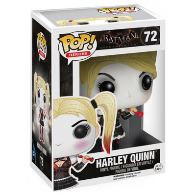Фигурка Batman: Arkham Asylum - POP! Heroes - Harley Quinn (9.5 см)