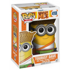 Фигурка Despicable Me 3 - POP! Movies - Dave Tourist (9.5 см)