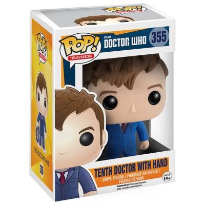 Фигурка Doctor Who - POP! TV - 10th Doctor w/ Hand (9.5 см)