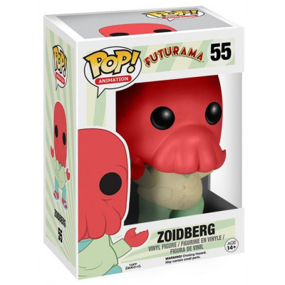 Фигурка Futurama - POP! Animation - Zoidberg (9.5 см)