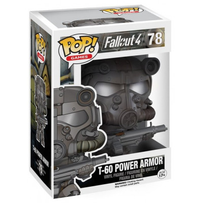 Фигурка Fallout 4 - POP! Games - T-60 Power Armor (9.5 см)