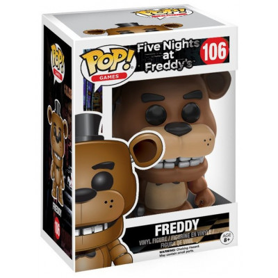 Фигурка Five Nights at Freddy's - POP! Games - Freddy (9.5 см)