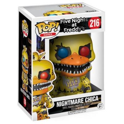 Фигурка Five Nights at Freddy's - POP! Games - Nightmare Chica (9.5 см)