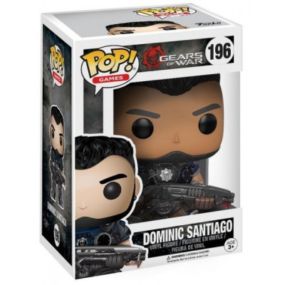Фигурка Gears of War - POP! Games - Dominic Santiago (9.5 см)