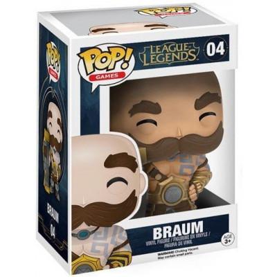 Фигурка League of Legends - POP! Games - Braum (9.5 см)