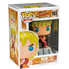 Фигурка Street Fighter - POP! Games - Ken Special Attack (Exc) (9.5 см)