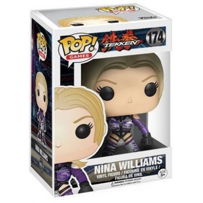 Фигурка Tekken - POP! Games - Nina Williams (9.5 см)