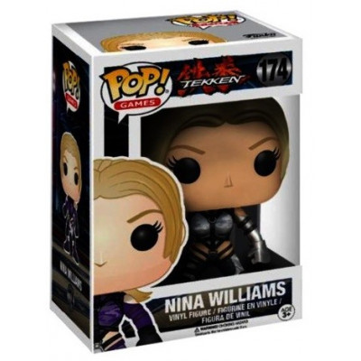 Фигурка Tekken - POP! Games - Nina Williams (Silver Suit) (Exc) (9.5 см)