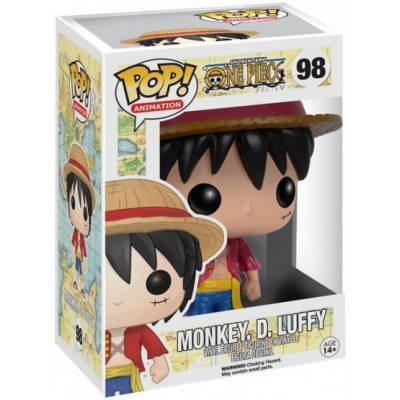 Фигурка One Piece - POP! Animation - Monkey D Luffy (9.5 см)