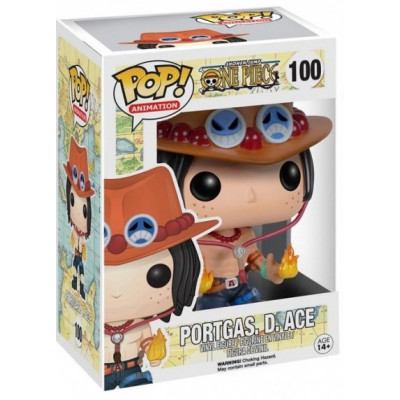 Фигурка One Piece - POP! Animation - Portgas D Ace (9.5 см)