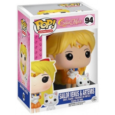 Фигурка Sailor Moon - POP! Animation - Sailor Venus & Artemis (9.5 см)