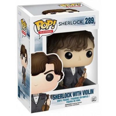 Фигурка Sherlock - POP! TV - Sherlock Holmes w/ Violin (9.5 см)