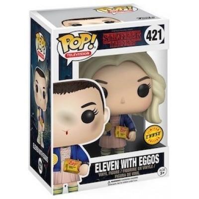 Фигурка Stranger Things - POP! TV - Eleven with Eggos (9.5 см)