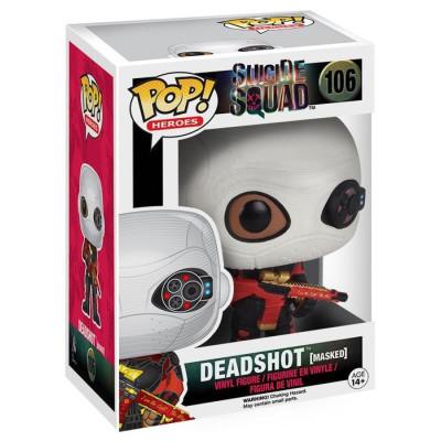 Фигурка Suicide Squad - POP! Heroes - Deadshot (Masked) (9.5 см)
