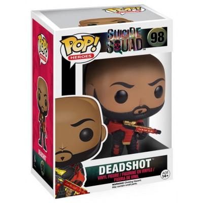 Фигурка Suicide Squad - POP! Heroes - Deadshot (Unmasked) (9.5 см)