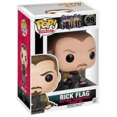 Фигурка Suicide Squad - POP! Heroes - Rick Flag (9.5 см)