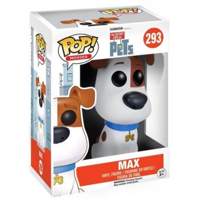 Фигурка The Secret Life of Pets - POP! Movies - Max (9.5 см)
