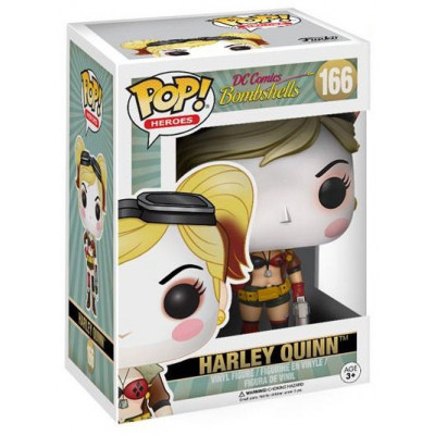 Фигурка DC Comics: Bombshells - POP! Heroes - Harley Quinn (9.5 см)