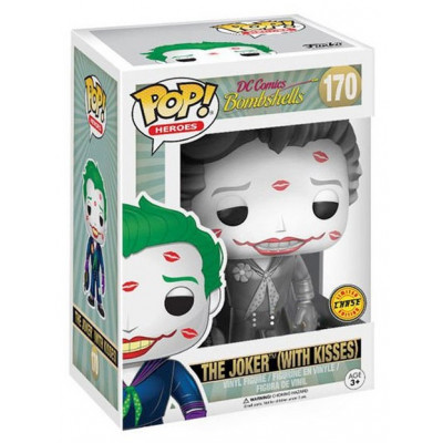 Фигурка DC Comics: Bombshells - POP! Heroes - Joker w/ Kisses (Exc) (9.5 см)