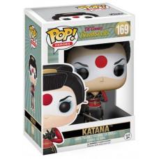 Фигурка DC Comics: Bombshells - POP! Heroes - Katana (9.5 см)