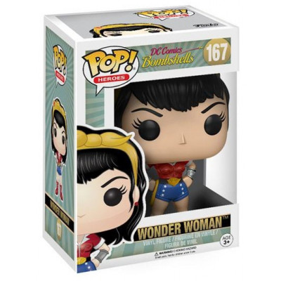 Фигурка DC Comics: Bombshells - POP! Heroes - Wonder Woman (9.5 см)