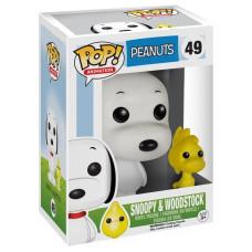 Фигурка Peanuts - POP! Animation - Snoopy & Woodstock (9.5 см)