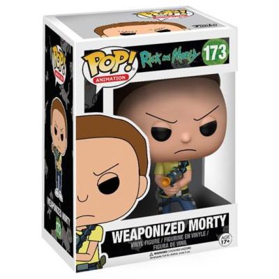 Фигурка Rick & Morty - POP! Animation - Weaponized Morty (9.5 см)