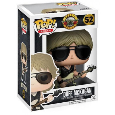 Фигурка Guns N' Roses - POP! Rocks - Duff McKagan (9.5 см)