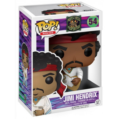 Фигурка POP! Rocks: Woodstock - Jimi Hendrix (9.5 см)