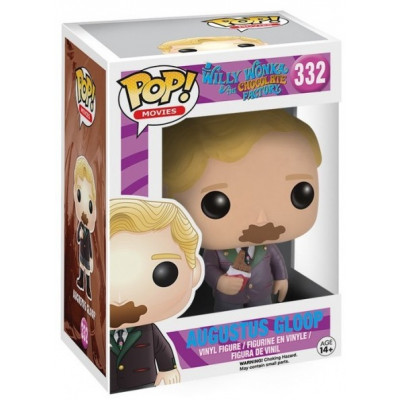 Фигурка Willy Wonka & The Chocolate Factory - POP! Movies - Augustus Gloop (9.5 см)