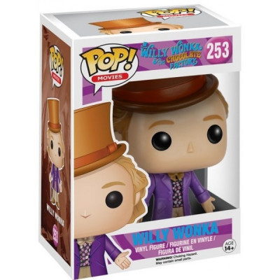 Фигурка Willy Wonka & The Chocolate Factory - POP! Movies - Willy Wonka (9.5 см)