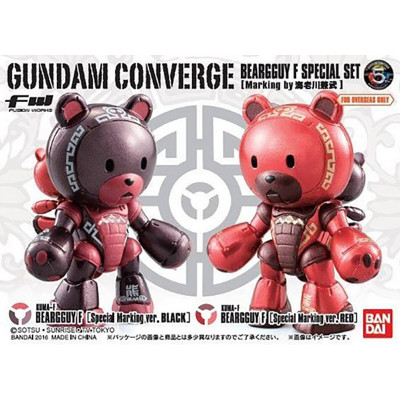 Набор фигурок Namco Bandai Mobile Suit Gundam SEED - Beargguy F Limited (5.5 см)
