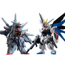 Набор фигурок FW Gundam Converge - Mobile Suit SEED SP07 - Freedom & Providence (6 см)