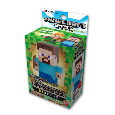 Фигурка Minecraft - Mine-Keshi: Character Box - Steve (4 см)