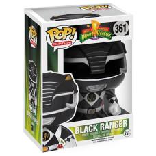 Фигурка Mighty Morphin Power Rangers - POP! TV - Black Ranger (9.5 см)