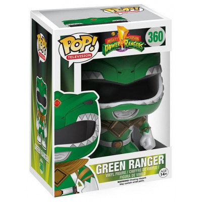 Фигурка Mighty Morphin Power Rangers - POP! TV - Green Ranger (9.5 см)