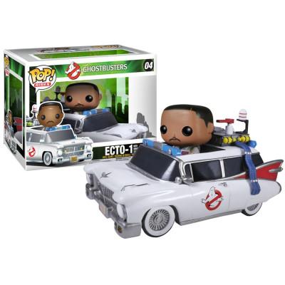 Фигурка Ghostbusters - POP! Rides - ECTO-1 w/ Winston Zeddmore (9.5 см)