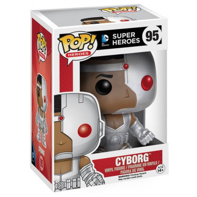 Фигурка DC: Super Heroes - POP! Heroes - Cyborg (9.5 см)