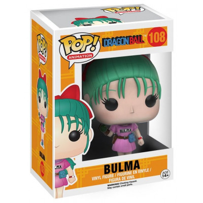 Фигурка Dragon Ball Z - POP! Animation - Bulma (9.5 см)
