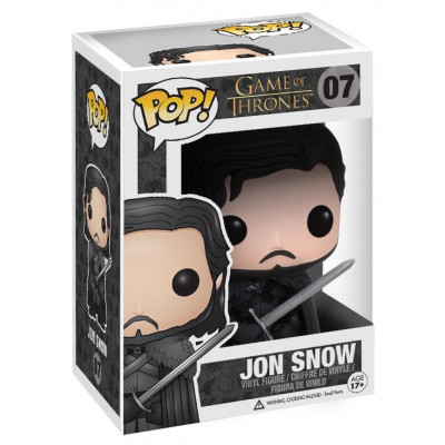 Фигурка Game of Thrones - POP! - Jon Snow In Black (9.5 см)