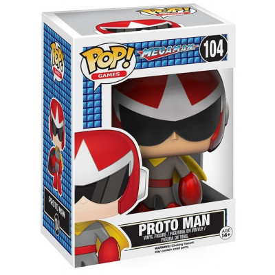 Фигурка Mega Man - POP! Games - Proto Man (9.5 см)