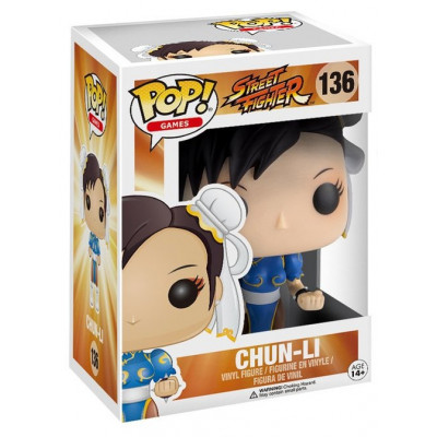 Фигурка Street Fighter - POP! Games - Chun-Li (9.5 см)