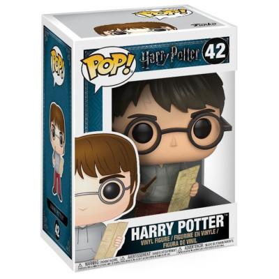Фигурка Harry Potter - POP! - Harry w/ Marauders Map (9.5 см)