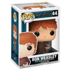 Фигурка Harry Potter - POP! - Ron Weasley w/ Scabbers (9.5 см)