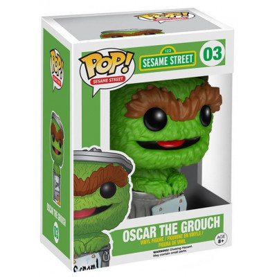 Фигурка Sesame Street - POP! Sesame Street - Oscar the Grouch (9.5 см)