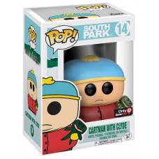 Фигурка South Park - POP! - Cartman w/ Clyde (Exc) (9.5 см)
